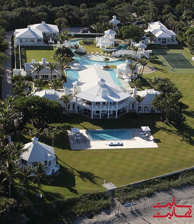منزل فلوریدا سلین دیون