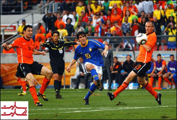 برزیل و هلند در جام جهانی ۲۰۱۰